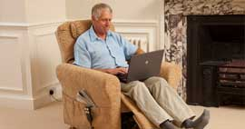 The Stirling - Riser Recliner with NHC Cyclo-Therapy